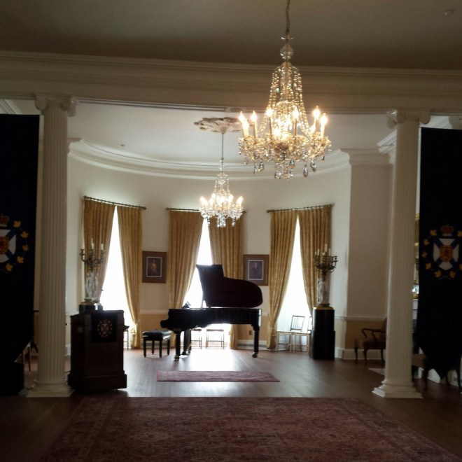 Ballroom at Government House