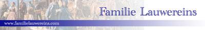 Oude logo van de website van de Familie Lauwereins