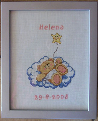 geboortetegel voor Helena