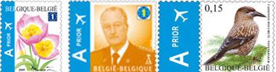 postzegels van dit moment..