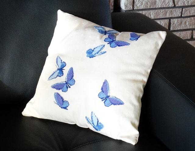 vlinderkussen