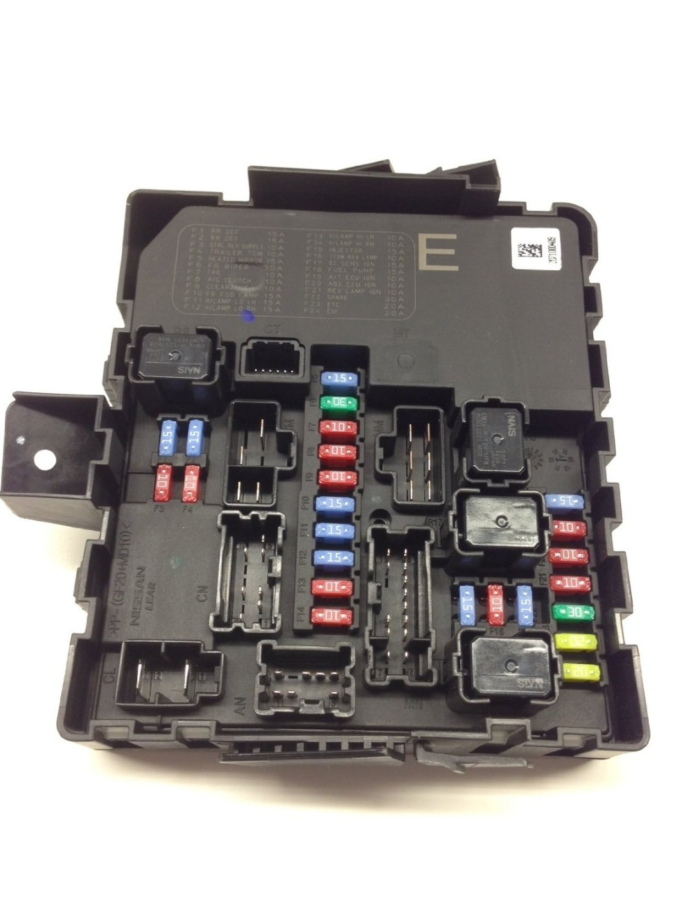 medium resolution of details about nissan armada frontier pathfinder titan xterra ipdm fuse box