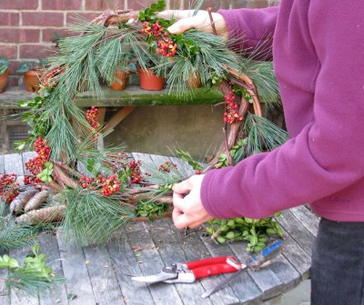 Wreath, almost finished