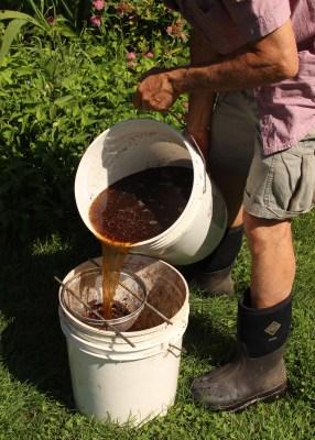 Compost tea, quick mix