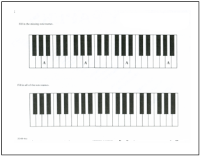 Lesson Plan — First Week at the Piano