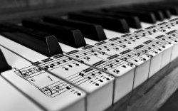 Bladmuziek piano