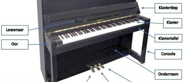 Piano onderdelen