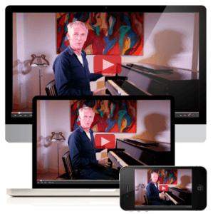 Online piano cursus Cor