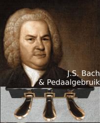 Bach pedaalgebruik