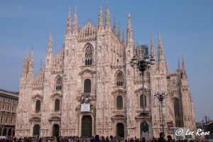 Exterior of Milan Duomo