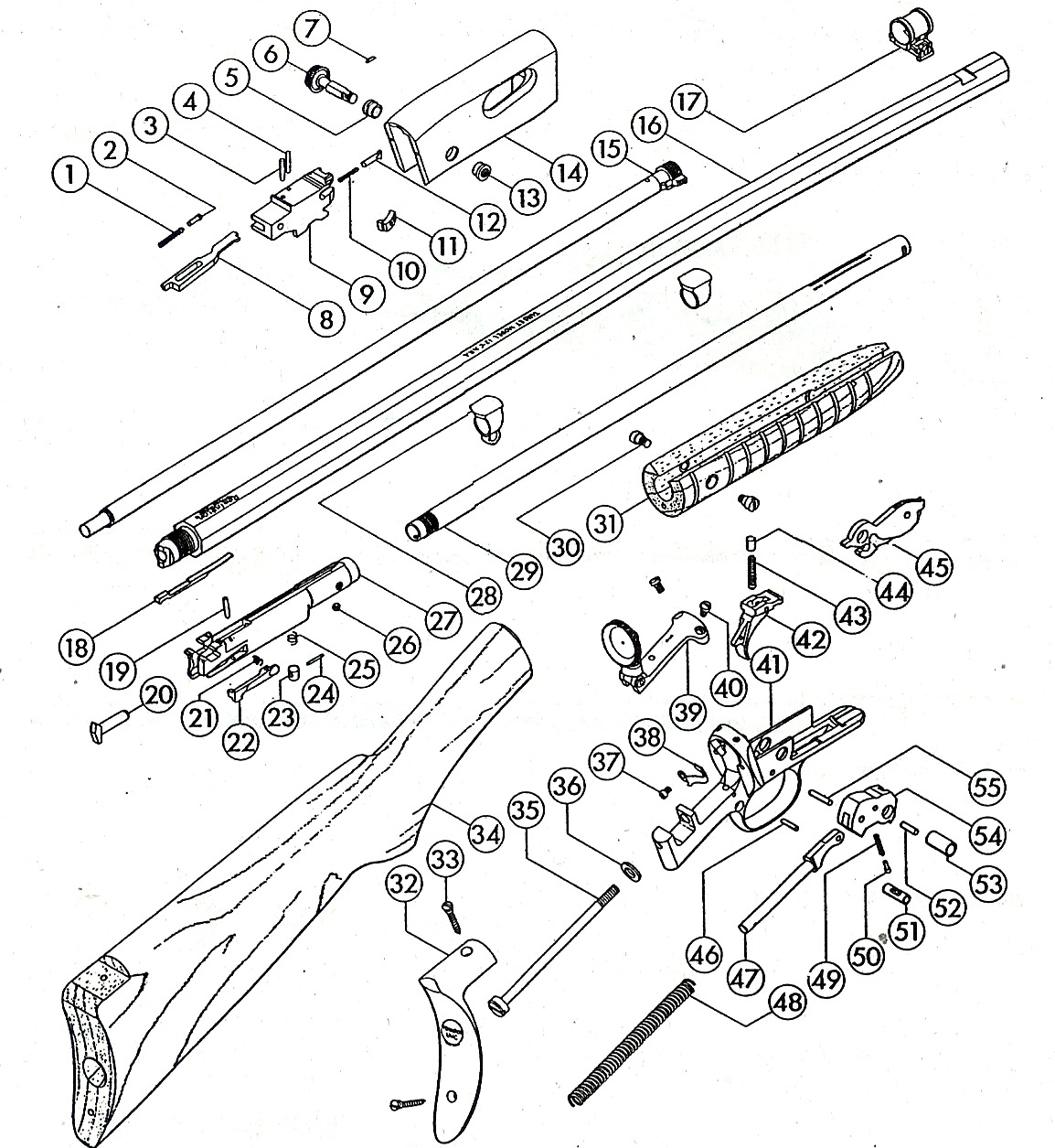 Remington 12 Exploded Views