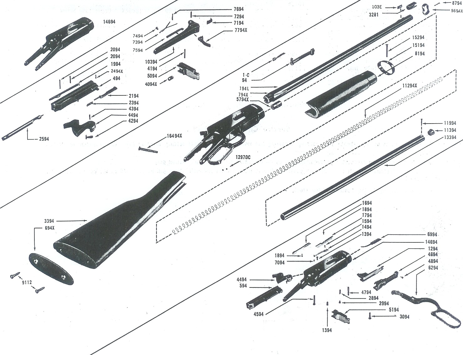 Winchester Model 94 Assembly