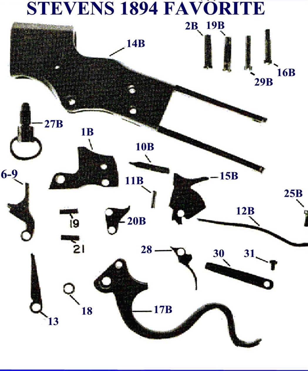 savage model 110 parts diagram eye lens ray stevens free engine image for user