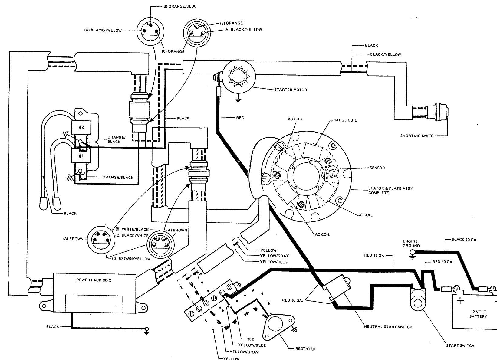 9 hp honda wiring diagram