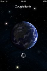 Google Earth op mijn iPod Touch
