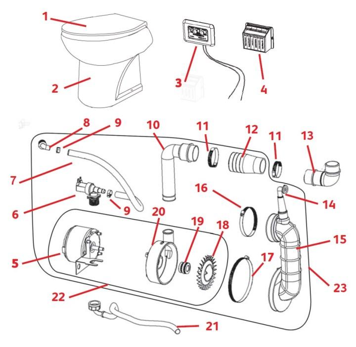 Saniflo Spare Parts Diagram Waitting