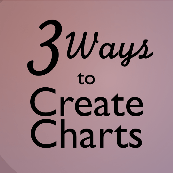 Three Ways to Design Charts in Illustrator