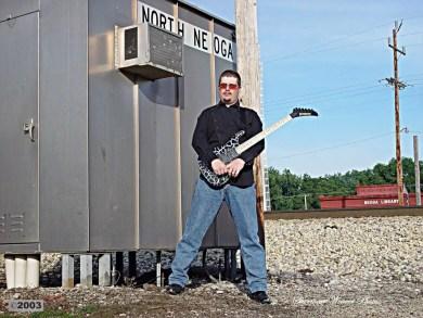 Musician Marty Gibson