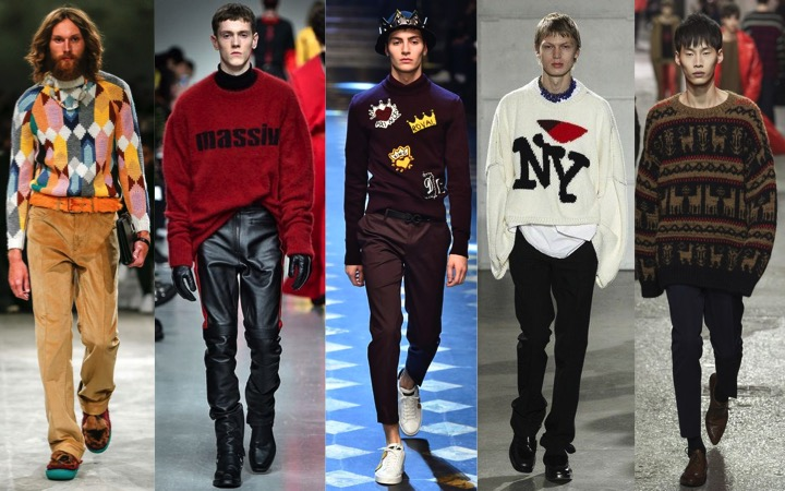 Must-Have Men's Sweaters for Fall 2017