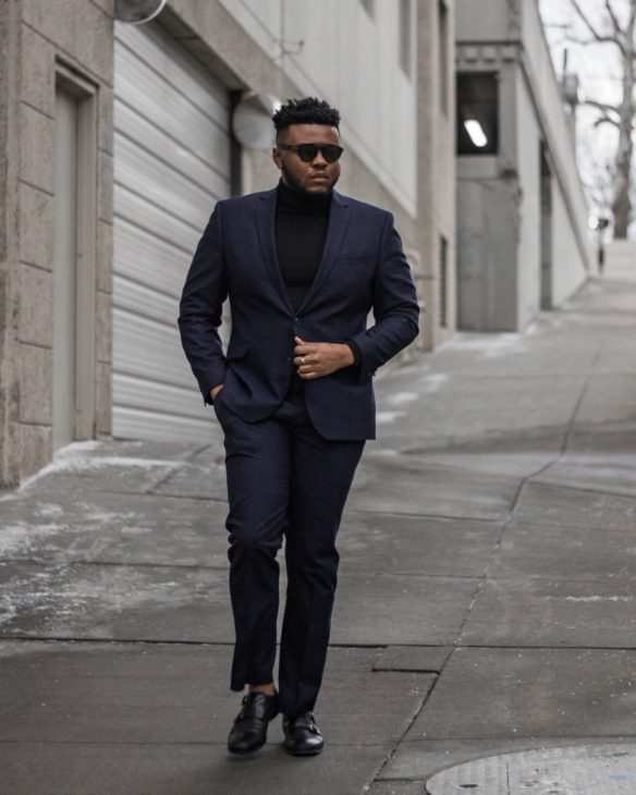Pairing a turtleneck with a suit should be every guy s go-to style move  during the Fall and Winter. A sweater is so much more comfortable than a  shirt and ... e8e6d20ca