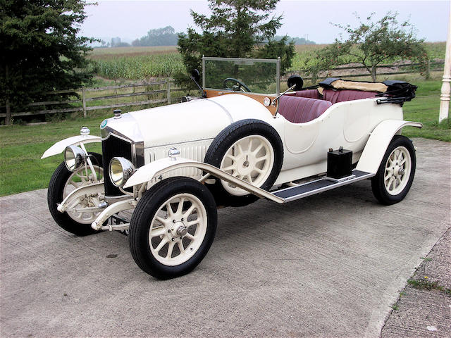 1924 Crossley 19.6HP Sports Tourer.