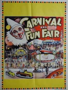 1950s carnival poster