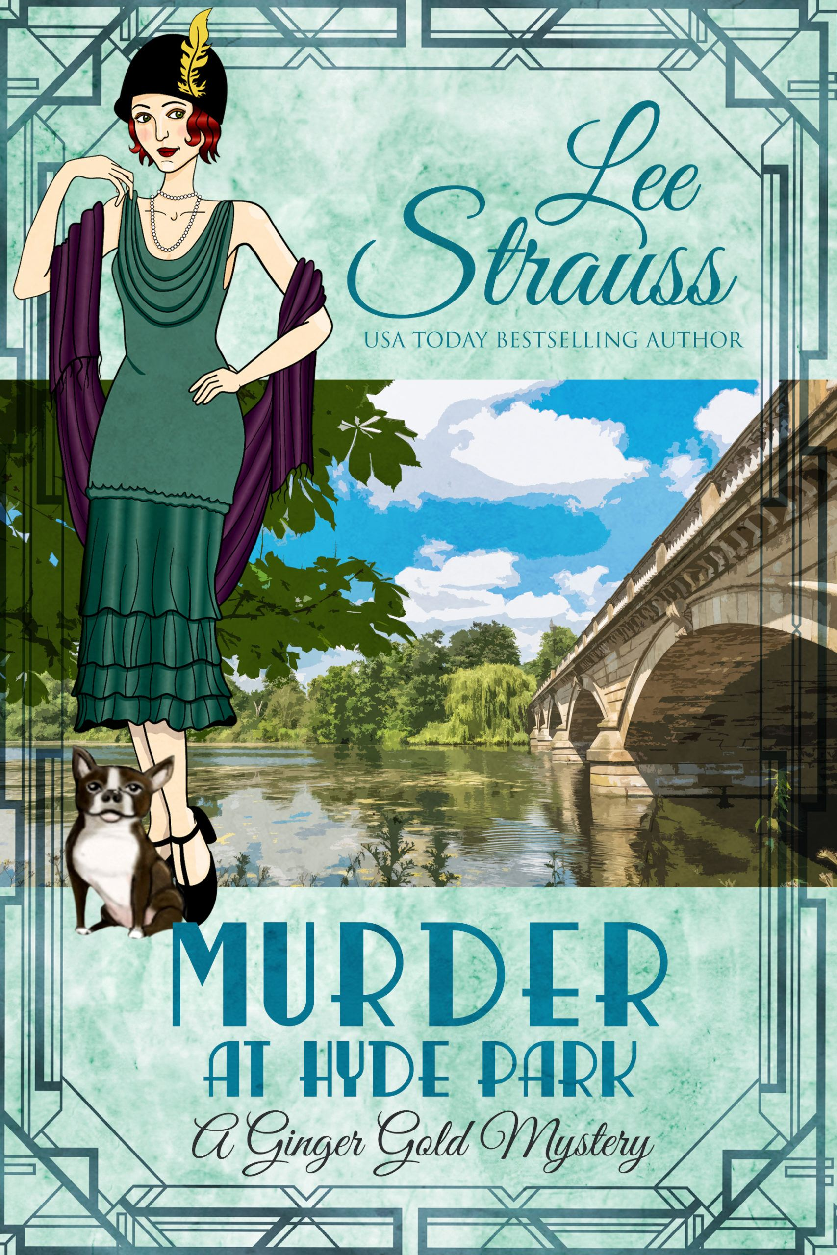 MurderHydePark 1920s book cover fiction new release