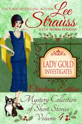 1920s Ginger Gold Mysteries, historical fiction book cover