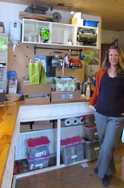 oil cleansing groene vrouw atelier