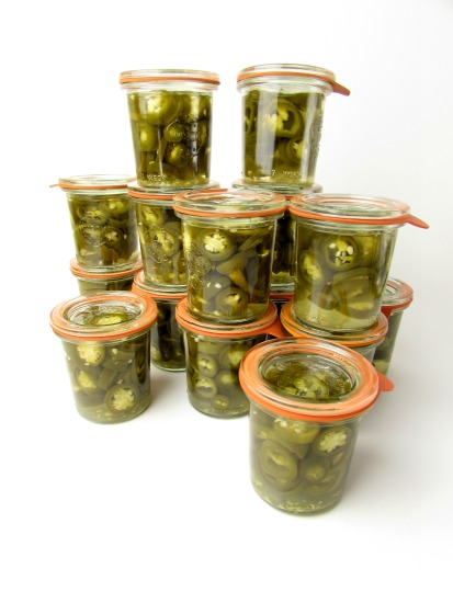 pickled jalapeño's weckjars