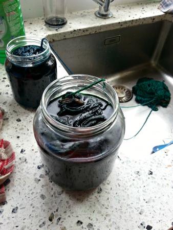 verven in potten