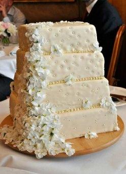 LeesVoer bruiloft taart