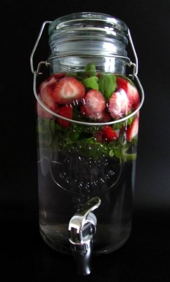 LeesVoer warm weer tips infused water