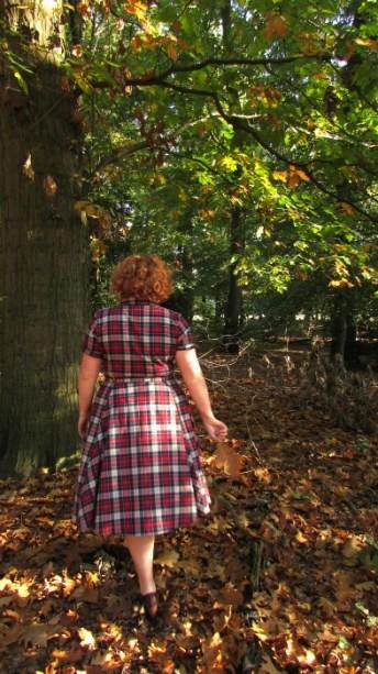 Collectif jurk achterkant