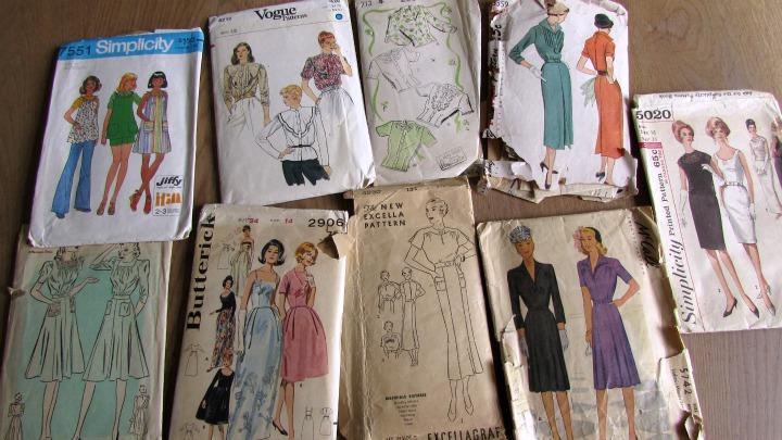 vintage patronen gekregen