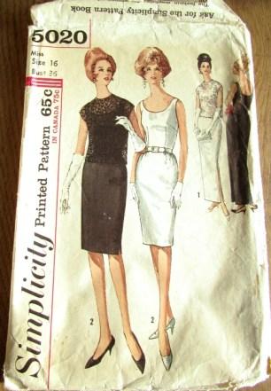 vintage patronen simplicity 5020