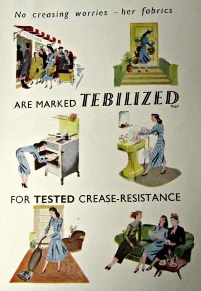 vintage reclames crease-resistance