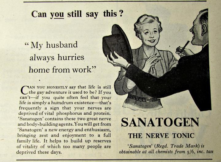 vintage reclames nerve tonic