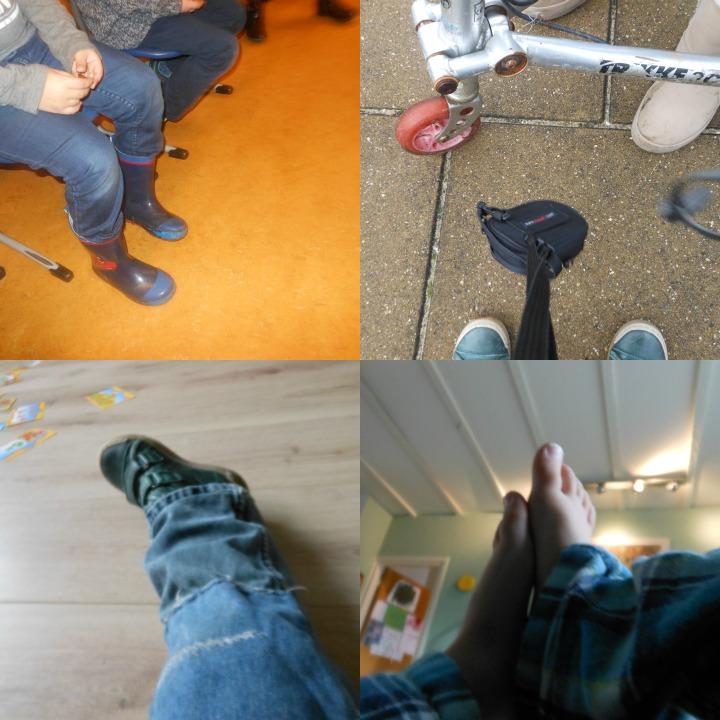 voeten en benene kleuter fotograaf