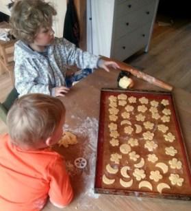 Koekjes bakken leesvoer kleuter peuter