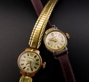 Vintage horloges opwindbaar fifties leesvoer 1