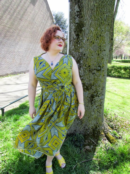 Afrikaanse stof rok en top, wax neerlandais, leesvoer-22