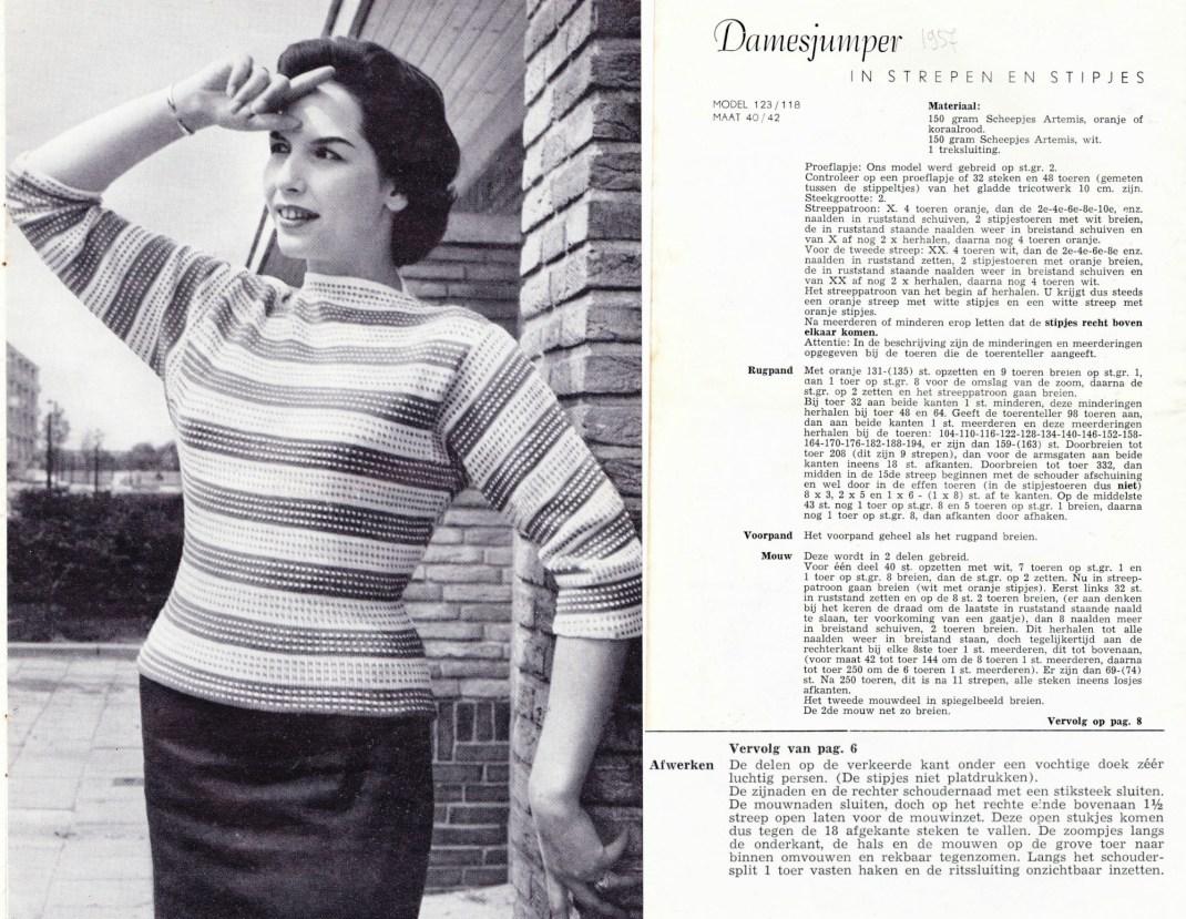 gratis-vintage-breipatronen-2-jumpereditie-strepen-en-stipjes