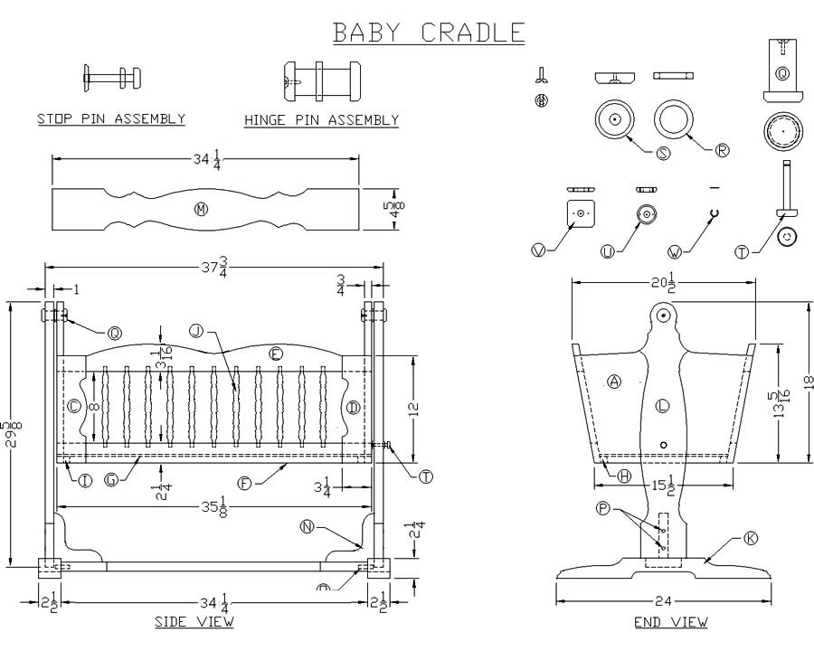 Dian Wood Workers: Share Twin bed woodworking plans baby crib