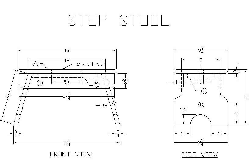 How To Build A Wooden Step Stool Free Woodworking Plans