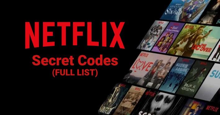 secret netflix codes 2021