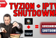 🔥BREAKING NEWS - TVZion, streaming sites and many IPTV Services SHUTDOWN??!! ⛔