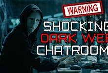 Chatting to Strangers on the DARK WEB (GONE WRONG!!!!)