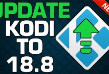 HOW TO UPDATE KODI TO LATEST VERSION ✅ (18.8 OR ABOVE)