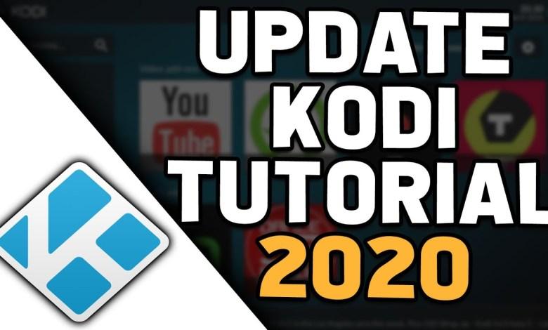 HOW TO UPDATE KODI TO LATEST VERSION IN 2020 (UPDATE TO KODI 18.5)